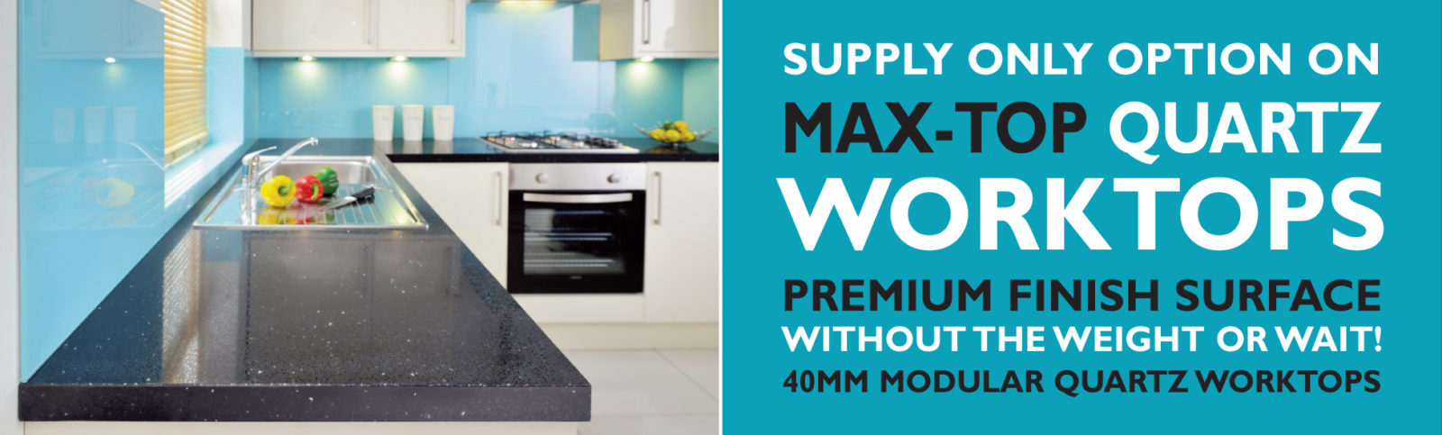 supply only quartz worktop