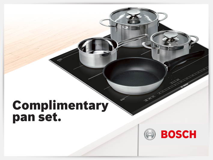 complimentary induction pan set riggzy complete kitchen. Black Bedroom Furniture Sets. Home Design Ideas
